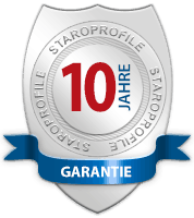 10 Jahre Garantie - StaroProfile