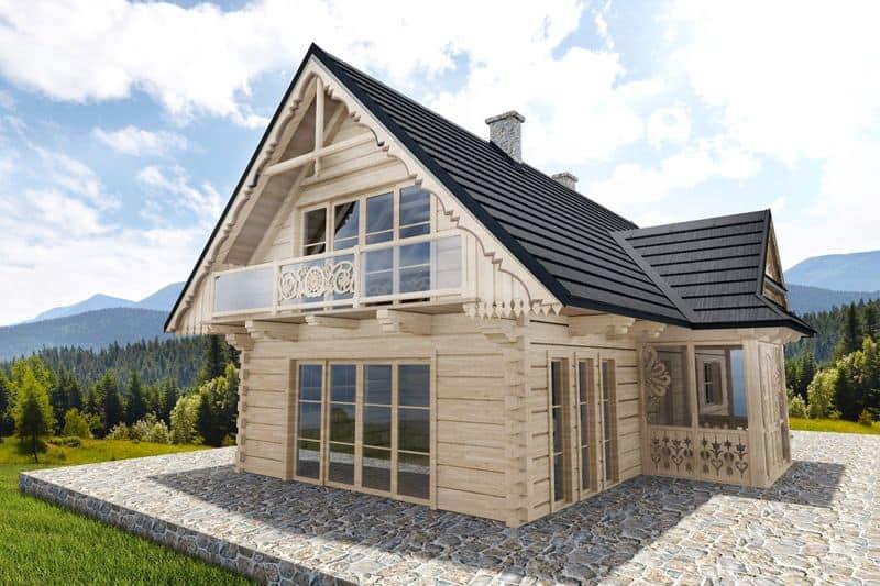 Metalldachpfanne Janosik - Haus