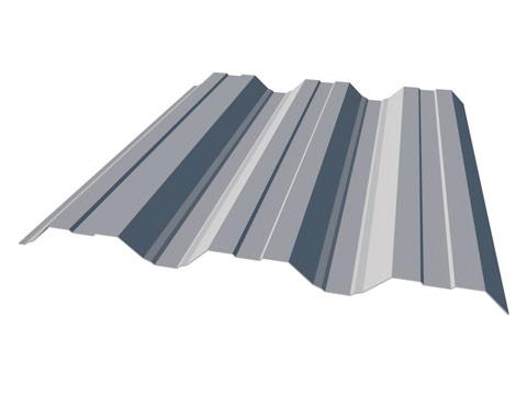 Trapezblech T-50 - Fassade