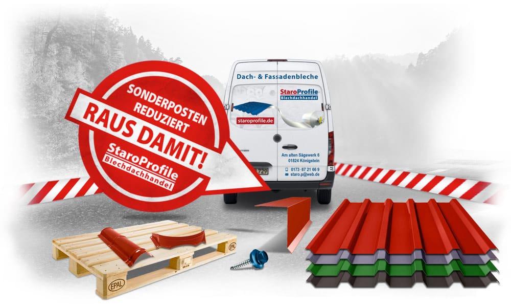 Sonderposten Online-Shop - StaroProfile Blechdachhandel