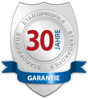 30 Jahre Garantie – StaroProfile