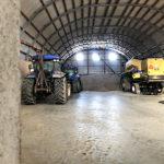 Rundbogenhalle Landwirtschaft Lagerhalle Unterstand