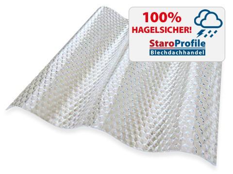 Lichtplatte Malon CS Diamond Farblos (Klar) - Hagelsicher