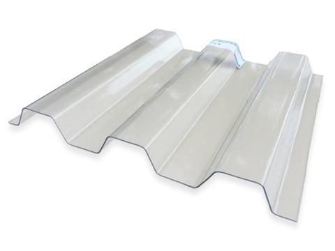 Lichtplatte Renolit Ondex Sollux - Farblos