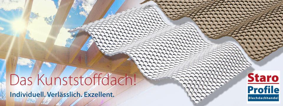Kunststoffdach Lichtplatten online Shop