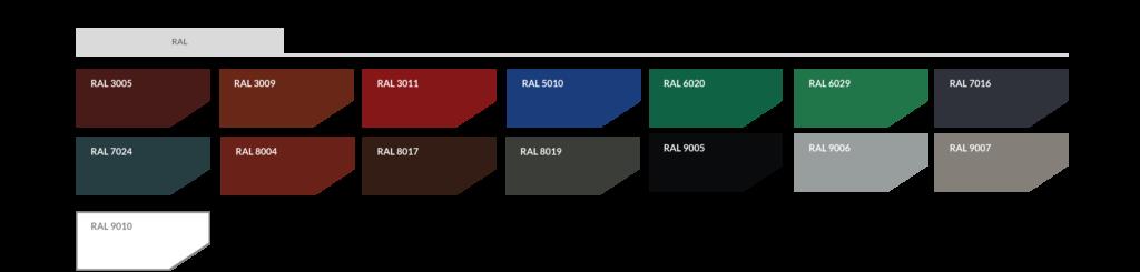 Farbtabelle RAL