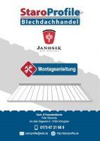 Montageanleitung Dachpfannen - Janosik